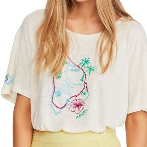 New with Tags Free People Beach House Graphic Tee